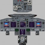 737 simulator NG poster