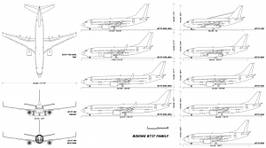 737 aircraft dimensions technical