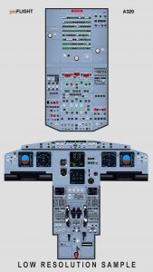 free airbus cockpit poster