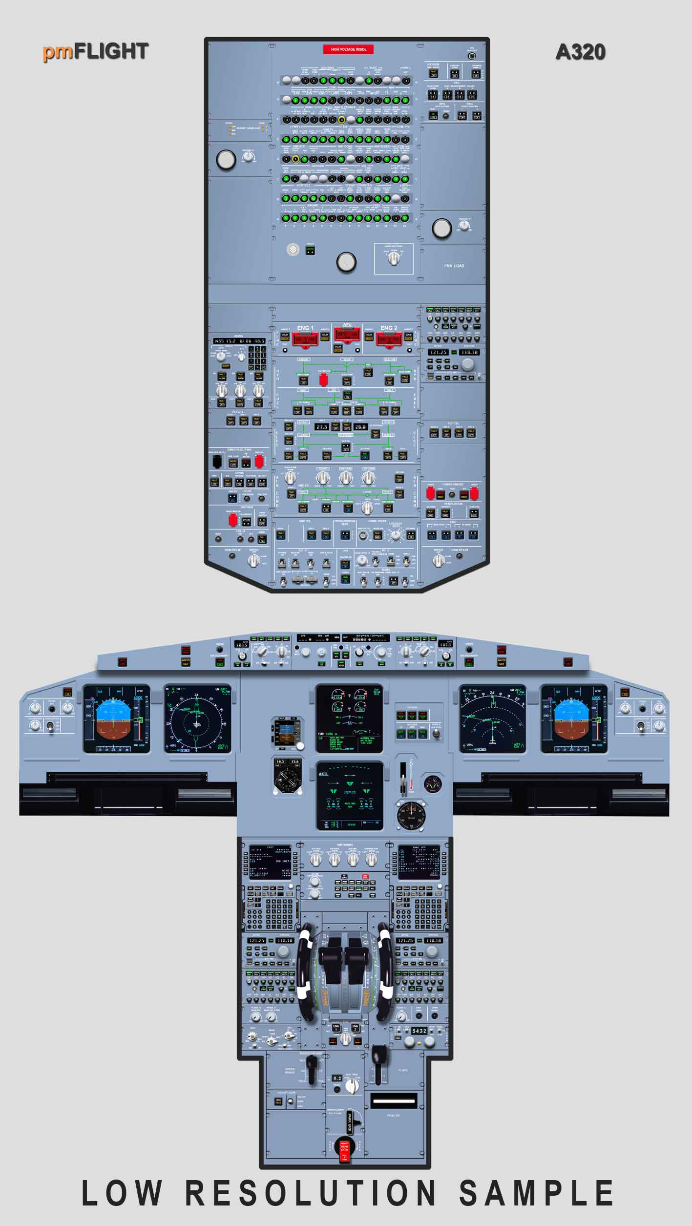Free Airbus Cockpit Posters - PMFlight