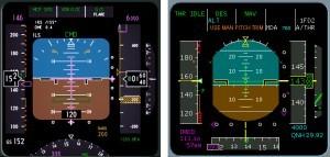 A320 PFD B737 PFD