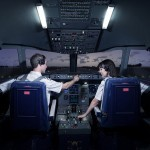 Airbus 320 flight simulator